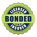 License, bonded and insured badge