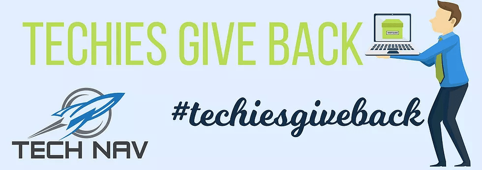 Techies Give Back with Tech Nav