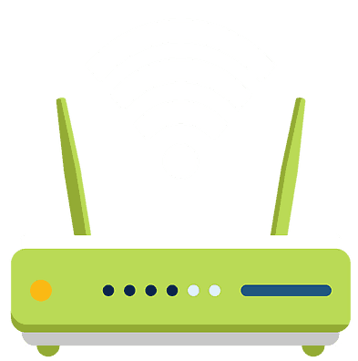 illustration of router
