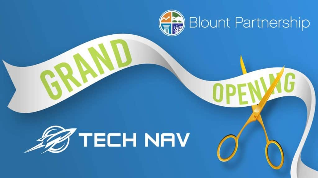 Grand Opening with Blount Partnership & Tech Nav